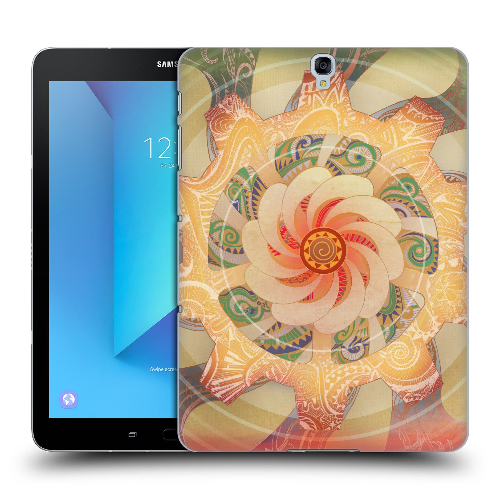 Official Brenda Erickson Solar Plexis Chakras Hard Back Case for Samsung Galaxy Tab S3 9.7