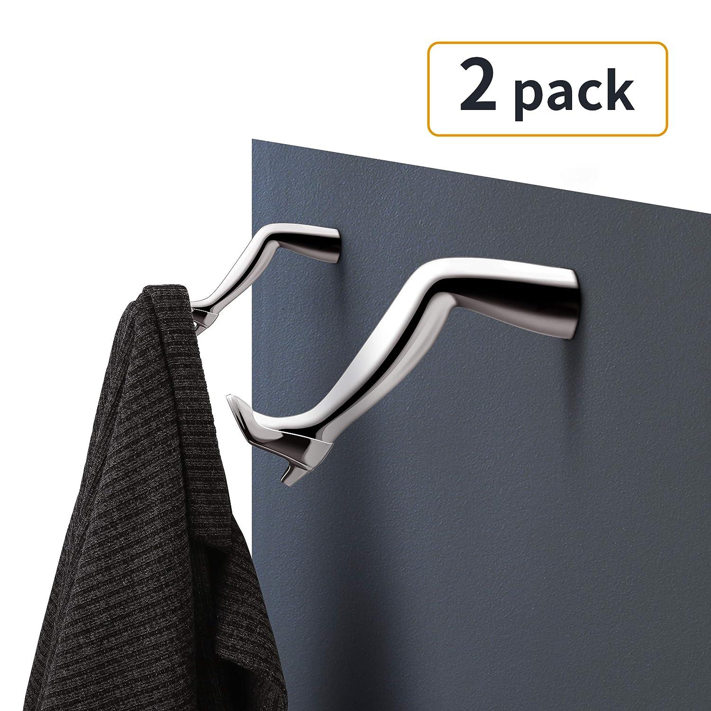 Amazon.com: Ganchos de pared para abrigos resistentes, 5 ...