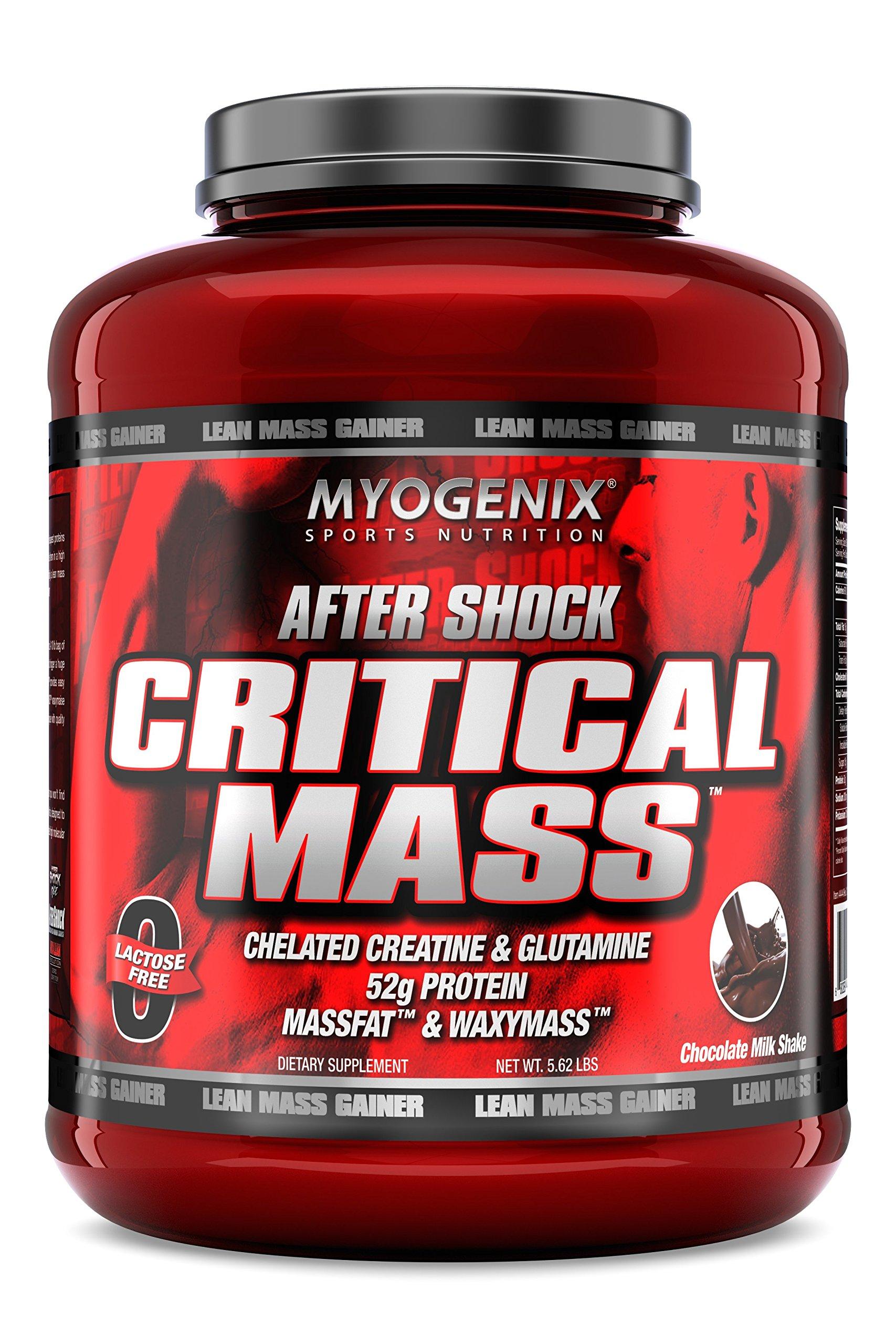 Myogenix Aftershock Critical Mass Chocolate Milkshake 5.62Lb