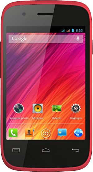 Wiko OZZY - Smartphone libre Android (pantalla 3.5