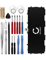 Cellonic® Premium Akku kompatibel mit Samsung Galaxy Note 10.1 2014 / Tab Pro 10.1 inkl. Werkzeug-Set (SM-P600 / SM-P605 / SM-T520 / SM-T525) (6600mAh) T8220E Ersatzakku Batterie Tabletakku
