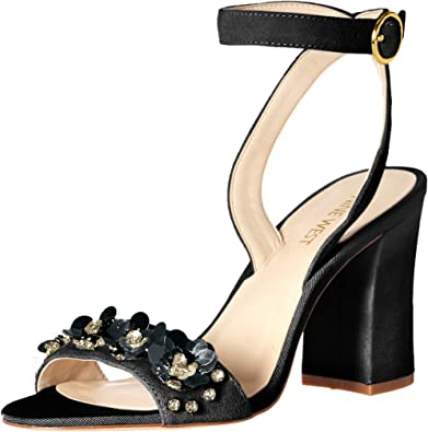 Nine West Women/'s Lecia Heeled Sandal