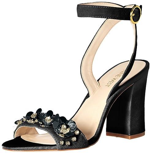 exclusive deals new appearance best authentic Nine West Women's Balada Suede Heeled Sandal
