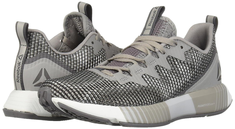 Reebok Women's Fusion Flexweave Sneaker B077ZG2Q1P 11.5 B(M) US|Tin Grey/Shark/Spirit White