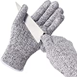 Baban Cut Resistant Gloves High Performance Level 5 Protection, Food Grade, EN388 Certified, Gloves for Hand protection and Gardening work, Kitchen Glove for Cutting and slicing L Size