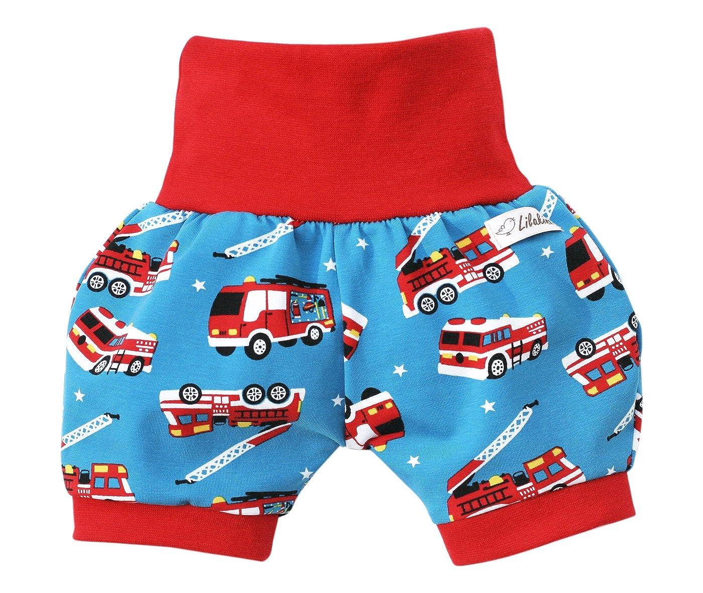 Lilakind Kurze Jungen Pumphose Shorts Buxe Sommerhose Feuerwehr Made in Germany