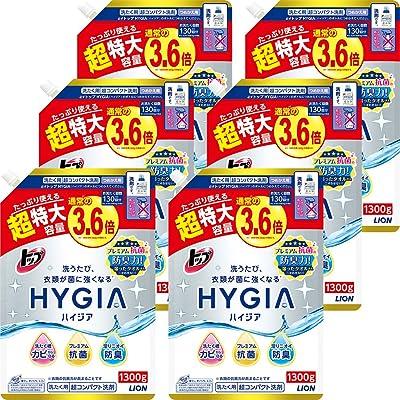 トップ スーパーナノックス 洗濯洗剤 液体 詰替特大 1300g×6個