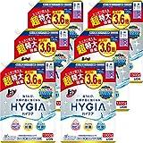 【ケース販売】トップ ハイジア 洗濯洗剤 液体 詰替 超特大 1300g×6個