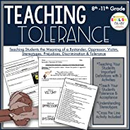 Teaching Tolerance-Teaching the Meaning of Bystander, Oppressor, Victim, Stereotypes, Prejudices, Discriminati