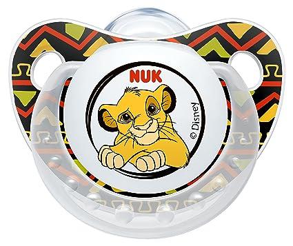 NUK 10176122 Disney Lion King Trend Line - Chupete de silicona ...