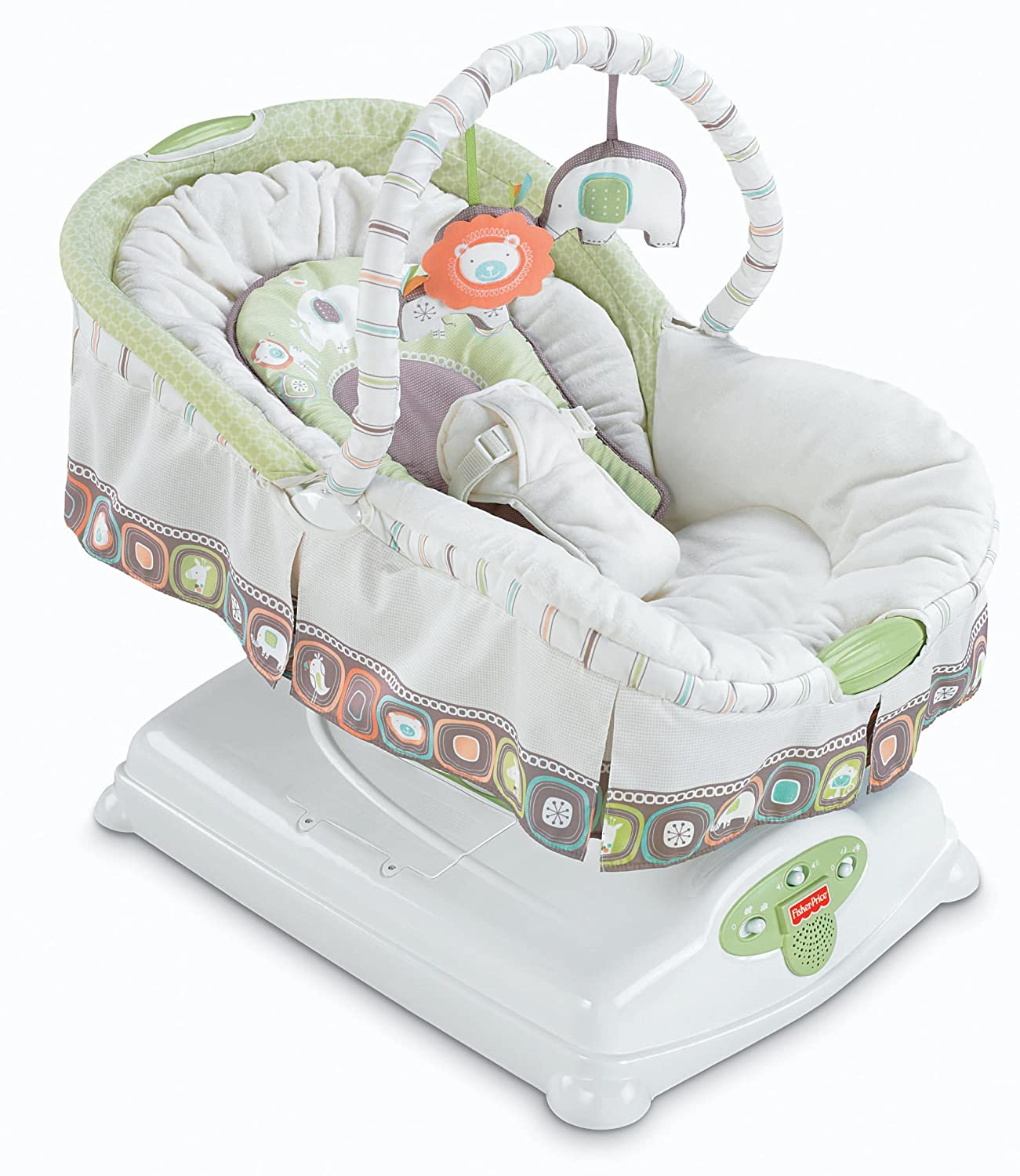 Amazon.com: Fisher-Price Coco Sorbet Soothing Motions Glider ...
