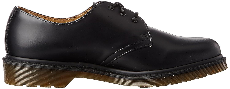 Dr. Marten's 1461 Original - Zapatos planos para adultos unisex con cordones - Negro, 47