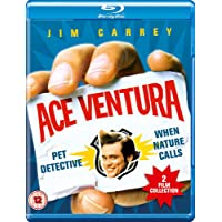 Ace Ventura 2 Movies Collection: Pet Detective + When Nature Calls (2-Disc Set) (Region Free + Fully Packaged Import)