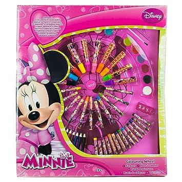 Disney Minnie Mouse Roue De Coloriage Amazon Fr Jeux Et Jouets