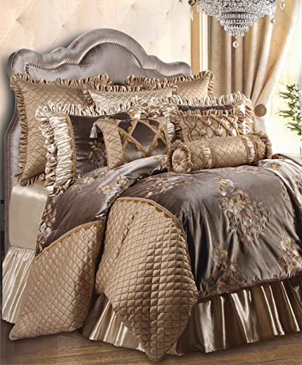 Amazoncom Jennifer Taylor Home 9 Piece King Size Embroidered Woven