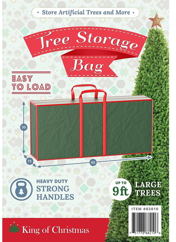 Amazon.com: KING OF CHRISTMAS Christmas King Tree Storage Bag X ...
