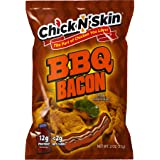 Chick N' Skin Fried Chicken Skins - BBQ Bacon Flavor (4Pack) | Keto Friendly Low Carb High Protein Snacks, Light…