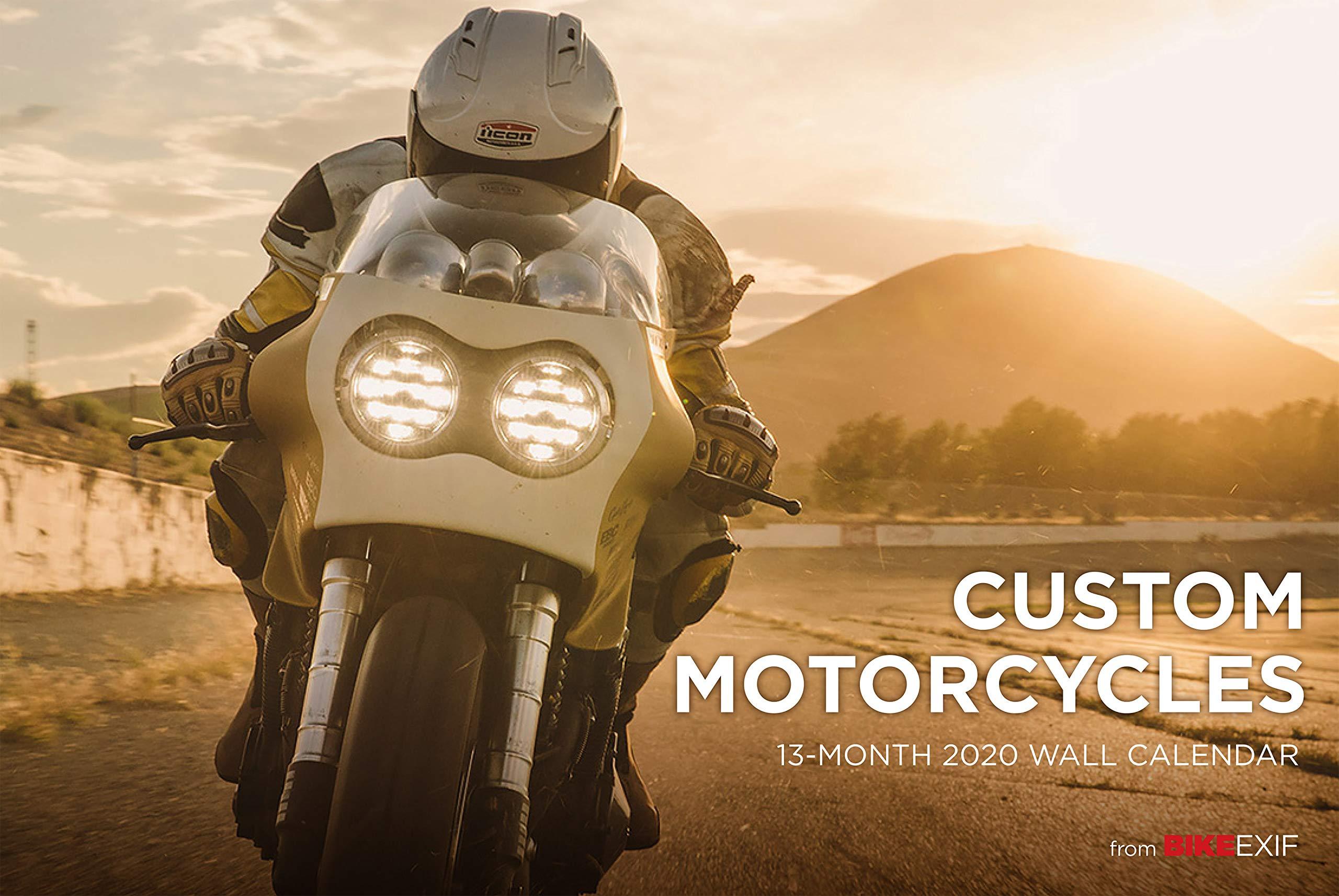 Motorcycle Calendar 2020 Bike EXIF Custom Motorcycle Calendar 2020: Chris Hunter, Lee