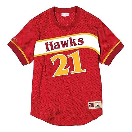 d5fedbbab Amazon.com : Mitchell & Ness Dominique Wilkins Atlanta Hawks NBA ...
