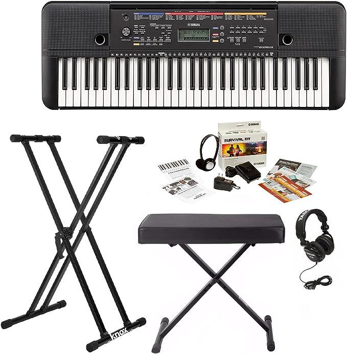 Yamaha PSRE263 cheap digital piano