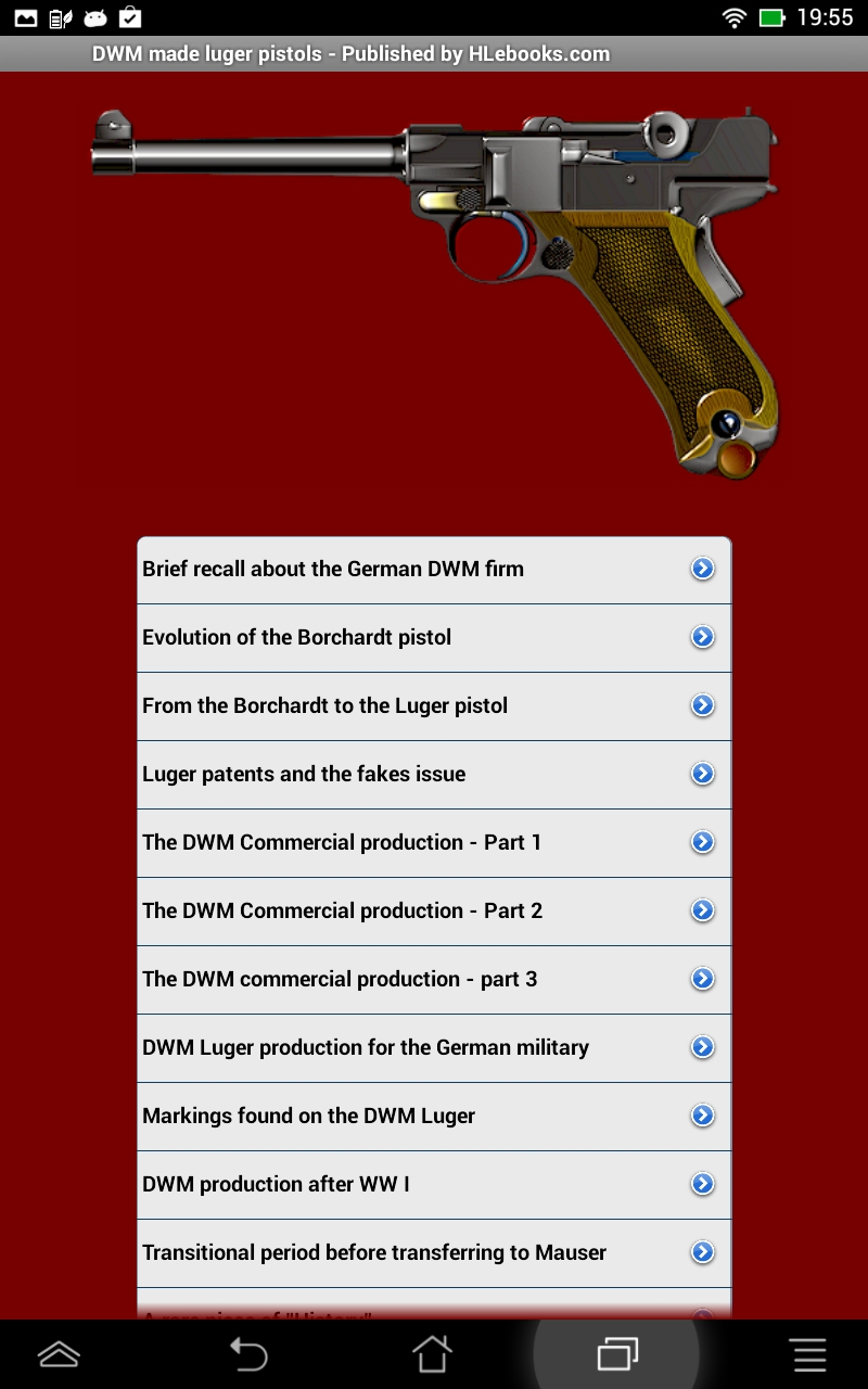 DWM made luger pistols: Amazon com au: Appstore for Android