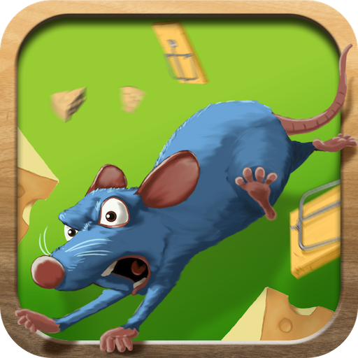 Angry Mouse Maze Scramble by Free Action Games Plus Fun Apps (Plus Hamster)