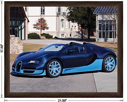 Amazon Com Bugatti Veyron 16 4 Grand Sport Vitesse Blue Carbon