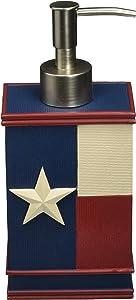 Avanti Linens Texas Star Lotion Pump, Multicolor