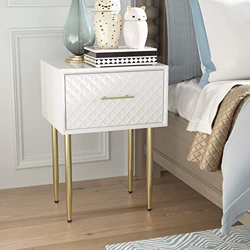 COZAYH Full-Assembled Large Drawer Nightstand Side Table