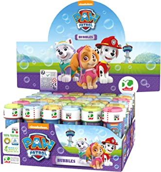 ColorBaby - Patrulla Canina Skye Everest Pomperos de jabón, 36 unidades (ColorBaby 76866): Amazon.es: Juguetes y juegos