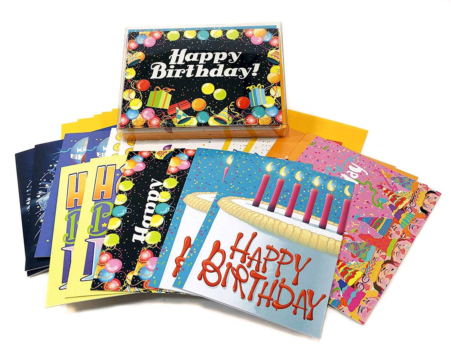 Amazon 24 Pack Birthday Card Assortment Of 5x7 Cards