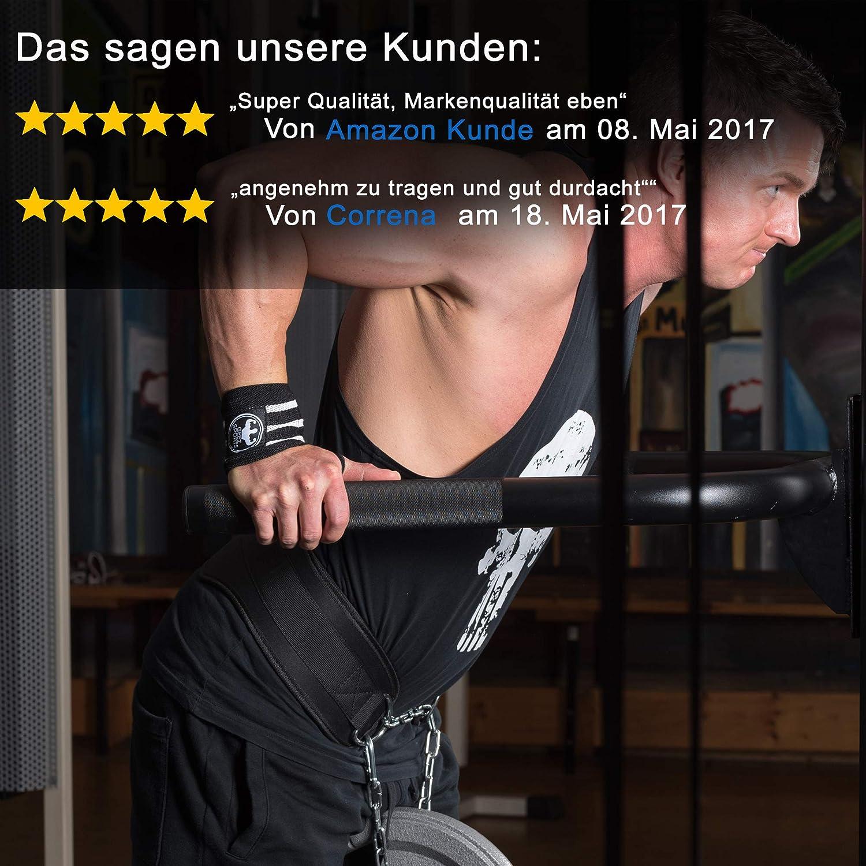Geez Dip Gürtel von Sportlern für Sportler I Dipgürtel für ...