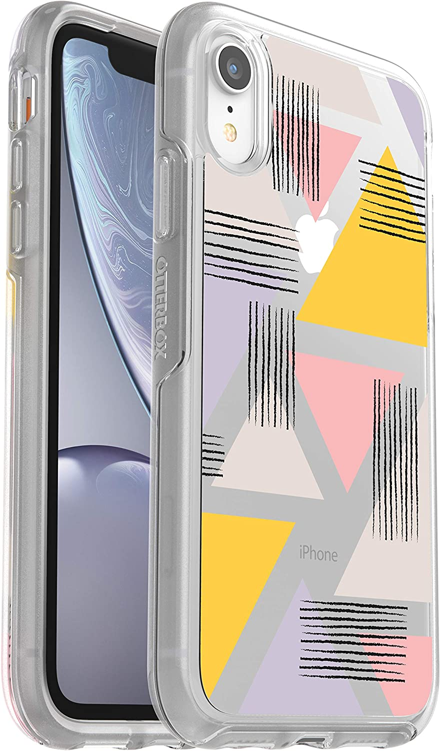 OtterBox Symmetry Series Case for iPhone XR - Retail Packaging - Love Triangle