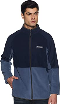 Columbia Basin Trail Fleece Full Zip Chaqueta, Hombre: Amazon.es ...
