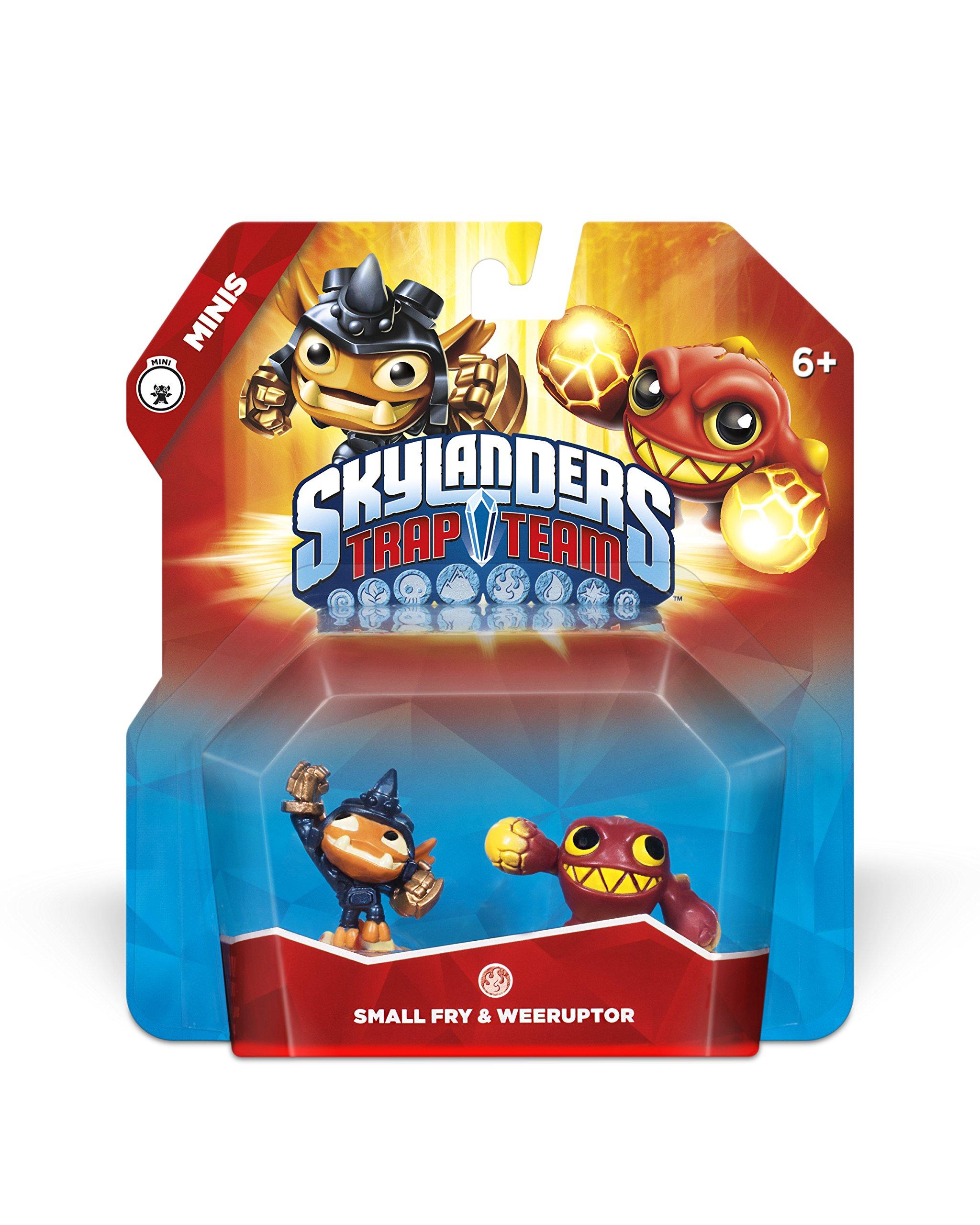 Skylanders Trap Team: Small Fry & Weeruptor - Mini Character 2 Pack