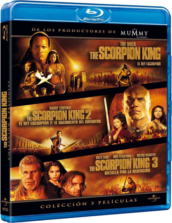 El Rey Escorpión (Trilogía) [Blu-ray]: Amazon.es: Dwayne ...