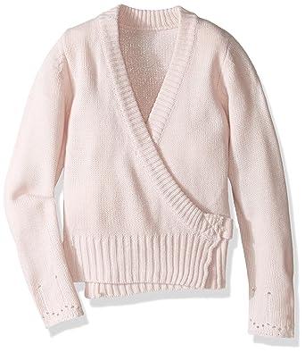 018453055 Amazon.com  Capezio Big Girls  Classic Knit Wrap Sweater