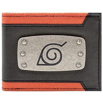Cartera de Naruto Shippuden Diadema Ninja Negro