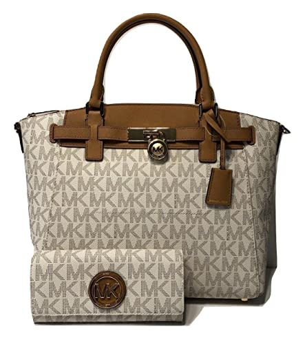 9c0b53e708 ... switzerland michael michael kors hamilton traveler large zip satchel  bundled with michael kors fulton flap continental