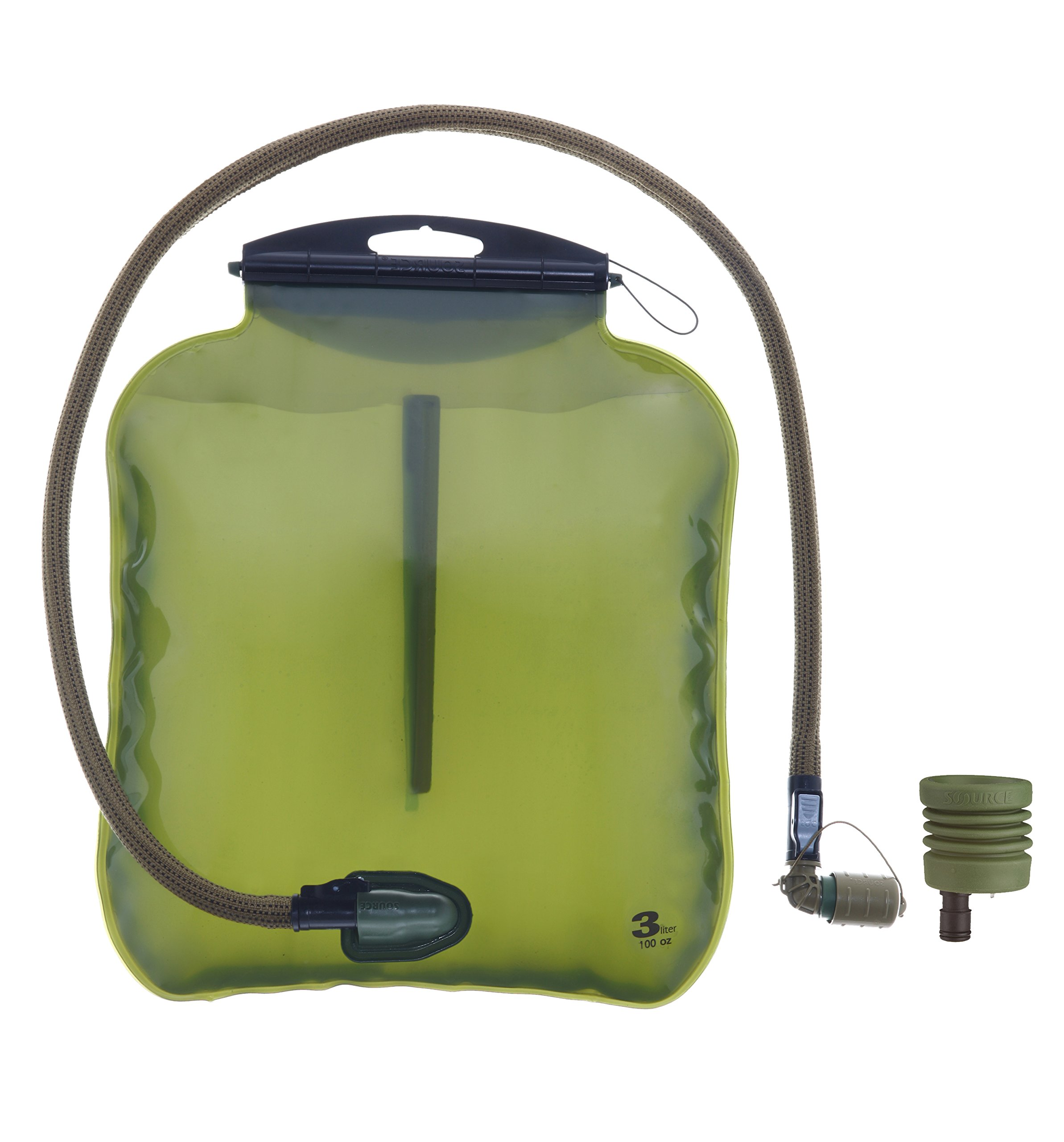 Source Tactical ILPS 3L Low Profile Hydration System Upgrade Kit with Universal Tube Adaptor (Coyote)