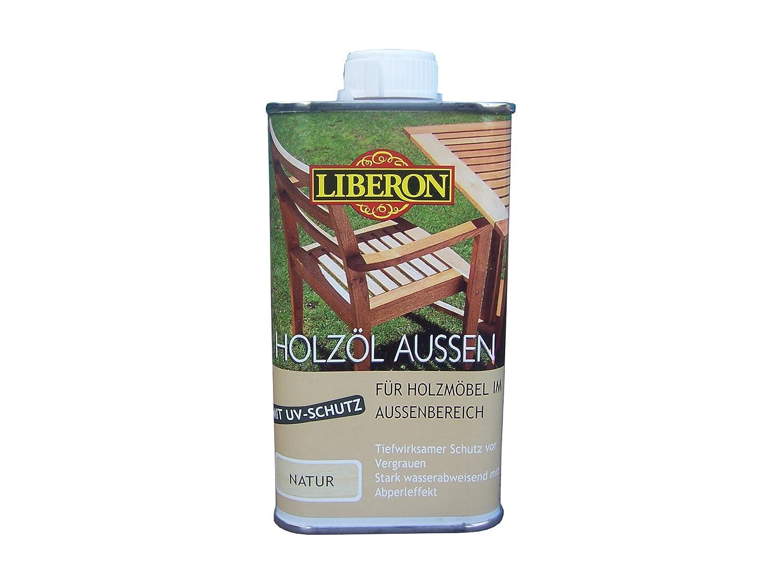 250ML LIBERON holzoel esterno, con protezione dai raggi UV, naturale