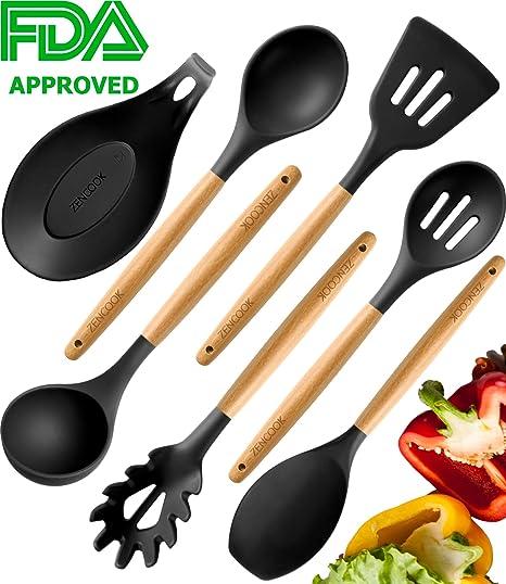 Premium Cooking Utensils Set For Nonstick Cookware
