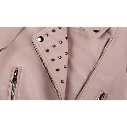c0a934713 The Twins Dream Girls Leather Jacket Kids Leather Jackets Boys ...