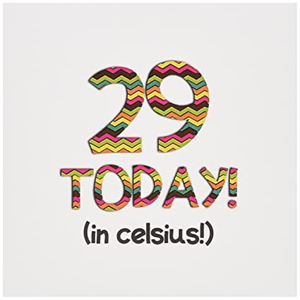 Amazon 29 today in celsius funny 85th birthday greeting 29 today in celsius funny 85th birthday greeting card 6 m4hsunfo
