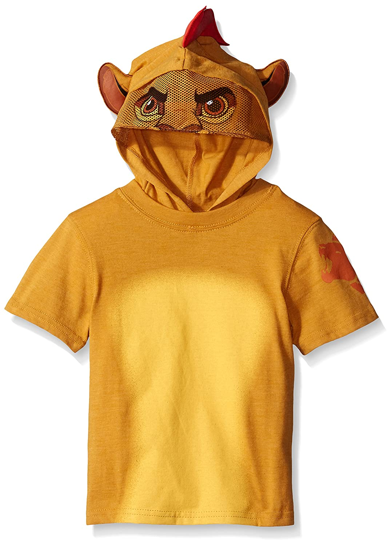 Amazon.com Disney Little Boys The Lion Guard Kion Costume Masked Hooded T-Shirt Shirt Tan 2T Clothing  sc 1 st  Amazon.com & Amazon.com: Disney Little Boys The Lion Guard Kion Costume Masked ...