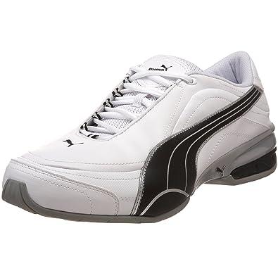 Puma Tazon 4 Mens White Running Shoes Size UK 9: Amazon.co