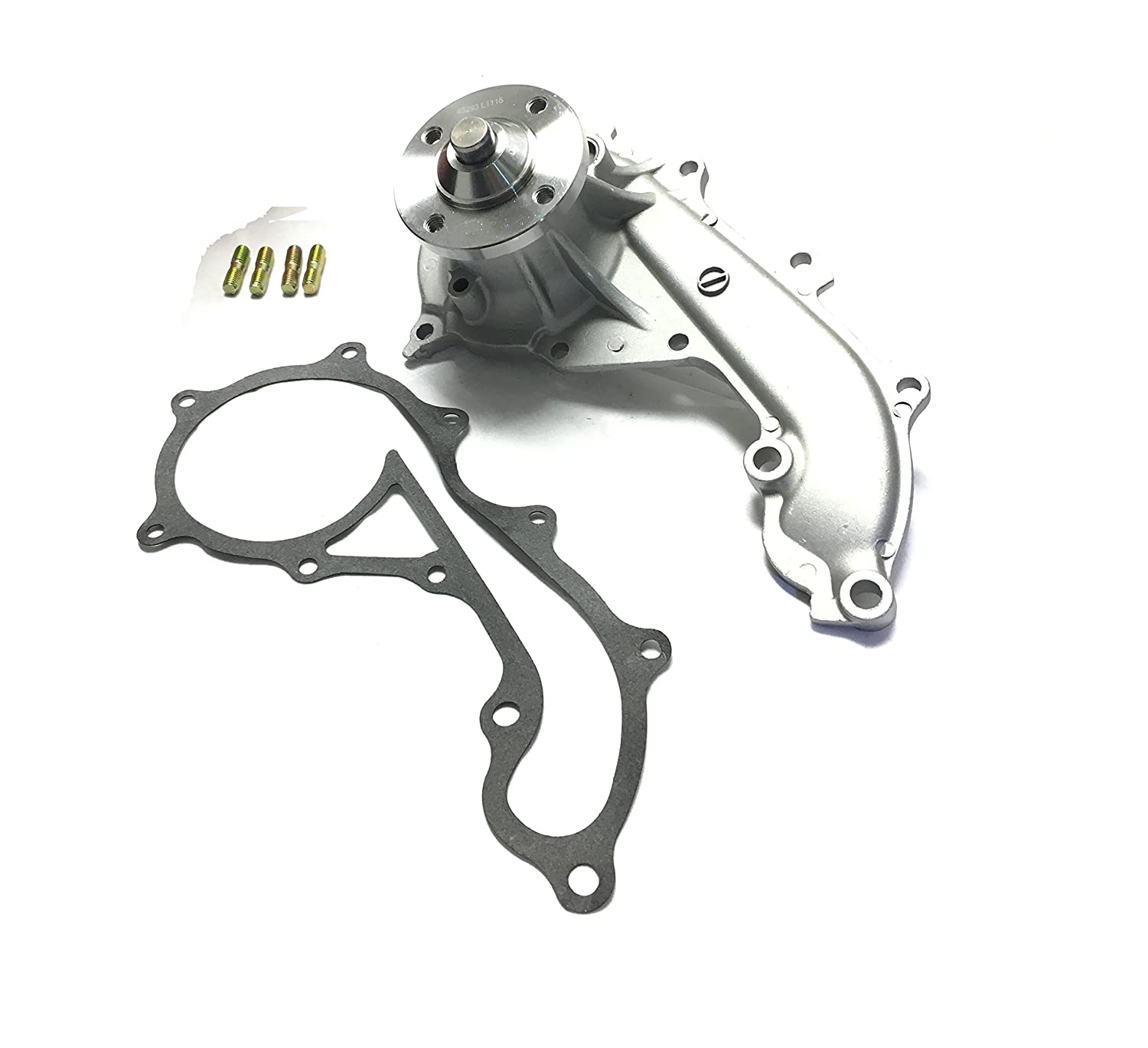 Diamond Power Water Pump Works With Toyota 4runner T100 1992 Tacoma 24l 27l Dohc 1994 2009 Automotive
