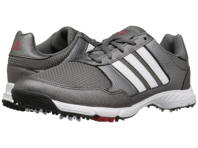 (アディダス) adidas メンズゴルフシューズ靴 Tech Response Iron Metallic/Ftwr White/Core Black 9 (27cm) E - Wide B07BQLGYLQ