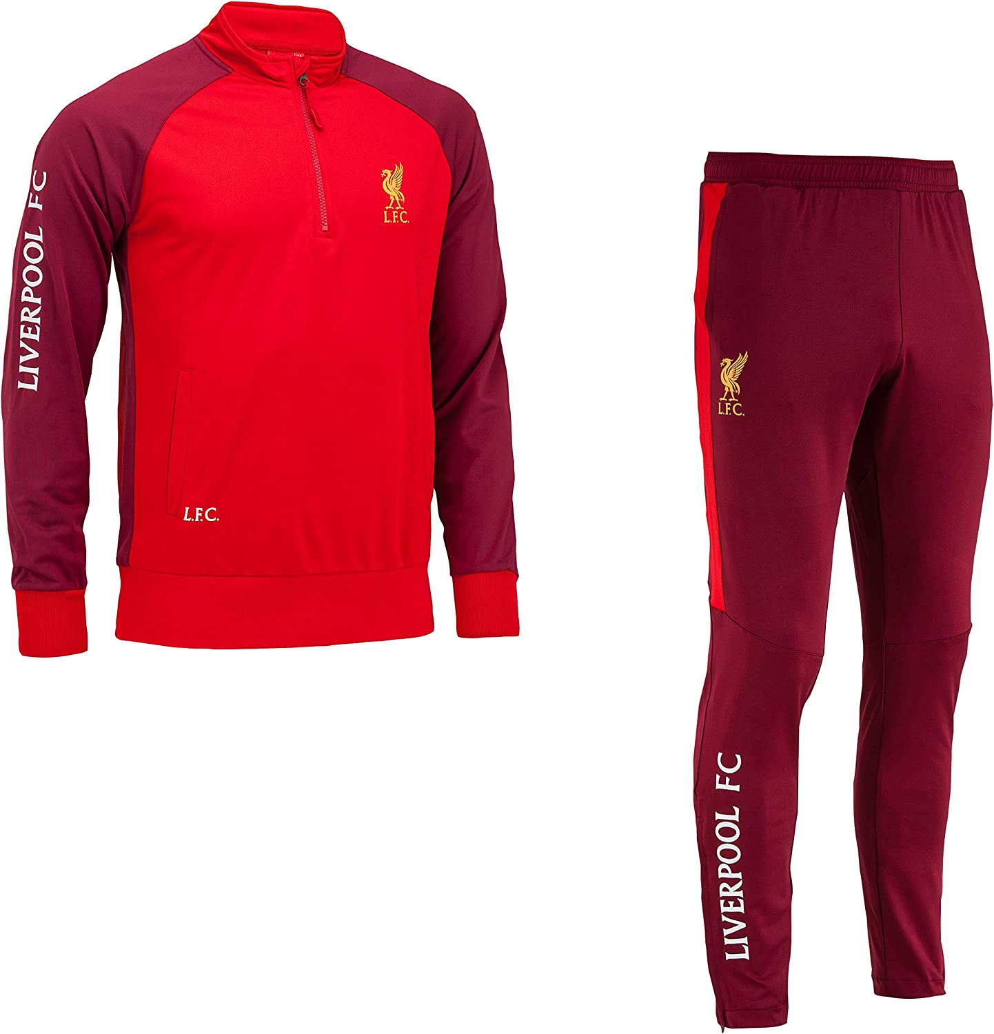 Tracksuit Training Fit Liverpool Lfc Official Collection Men Size Xl Amazon Co Uk Clothing