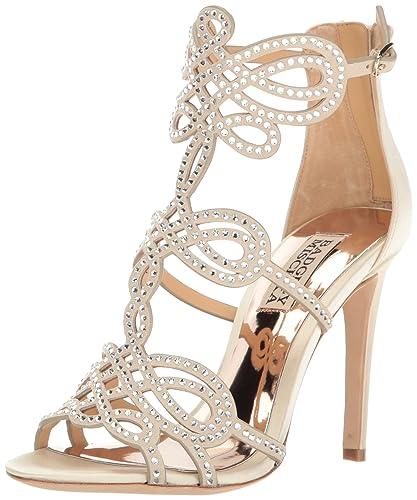 18db92d3f101a Badgley Mischka Women s Teri Dress Sandal  Amazon.co.uk  Shoes   Bags